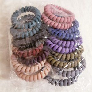 Set of 18 Hair Bands Ties